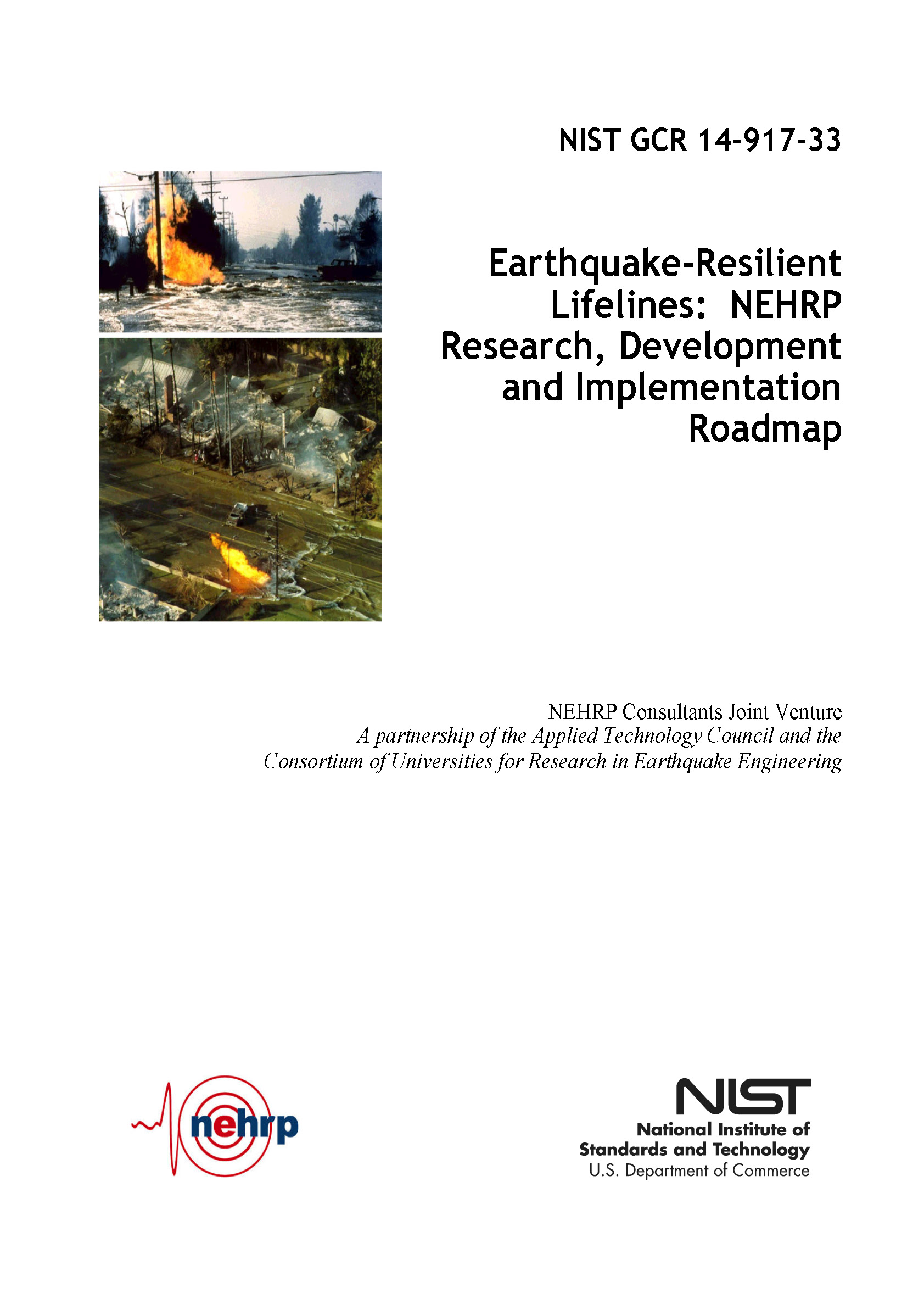 Publications :: Earthquake-Resilient Lifelines: NEHRP Research