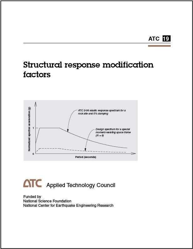 Publications Structural Response Modification Factors Applied Technology Council Online Store