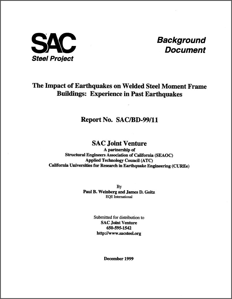 Publications :: The Impact of Earthquakes on Welded Steel Moment ...